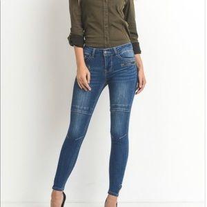5 Pocket Moto Jean